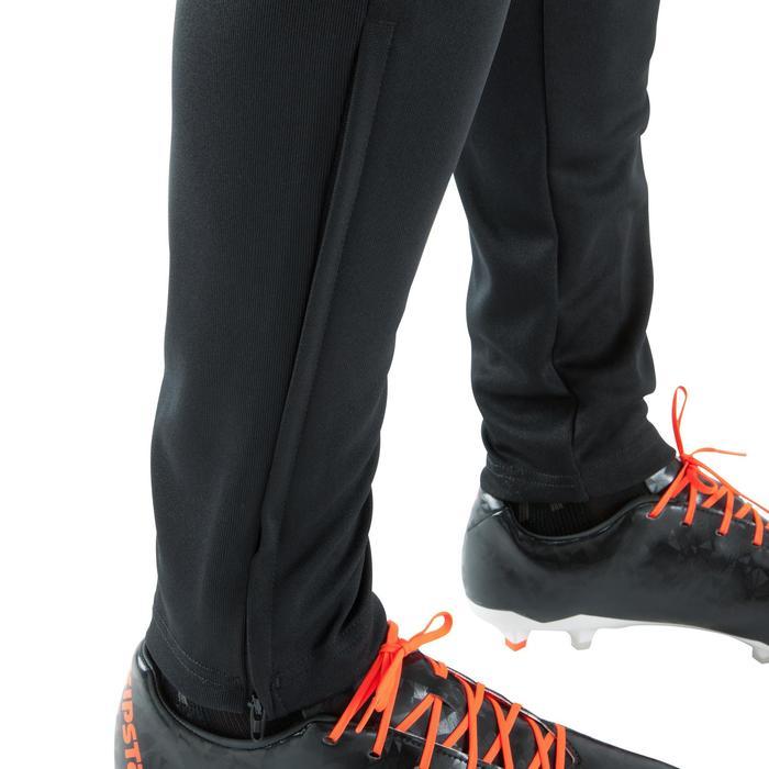 Pantalón de entrenamiento de fútbol adulto Tiro negro
