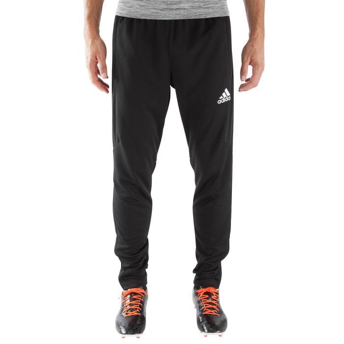 fc31a87b49e62 Pantalón de entrenamiento de fútbol adulto Tiro negro Adidas