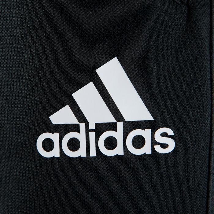 Pantalón de entrenamiento de fútbol adulto Tiro negro Adidas  03524b52f2b33