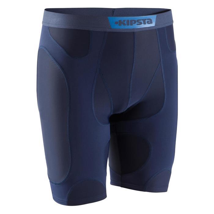 Short térmico de fútbol Keepdy 900 Supportiv adulto azul