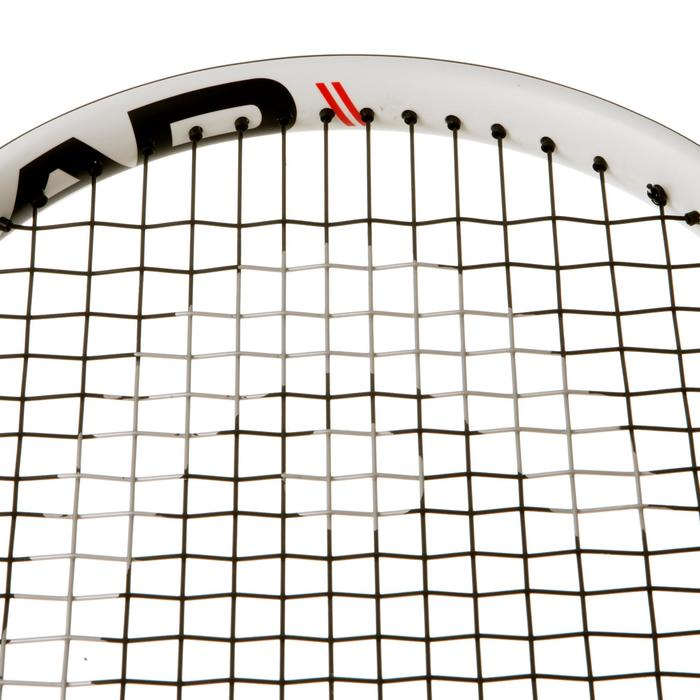 RAQUETA DE TENIS ADULTO CHALLENGE ELITE SPEED BLANCO ROJO