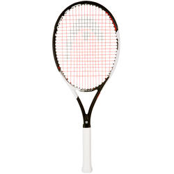 Tennisracket Speed S zwart/wit