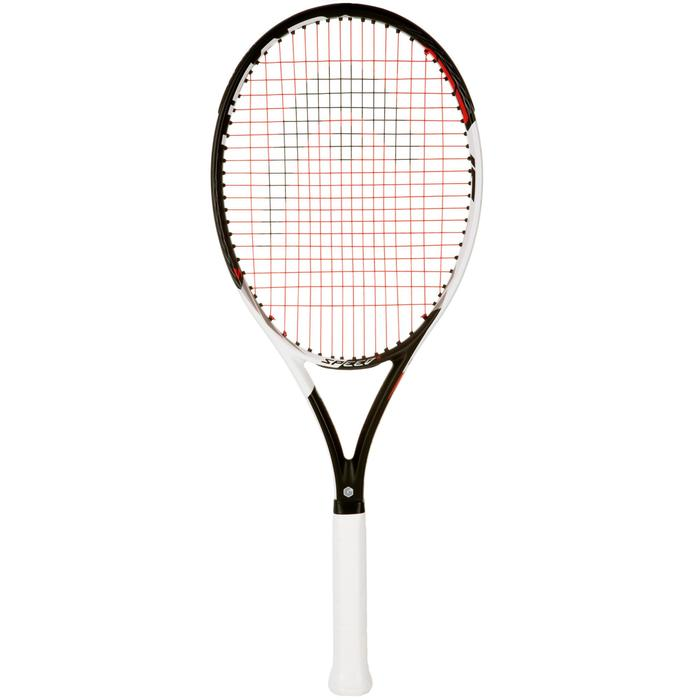 RAQUETTE DE TENNIS  ADULTE SPEED S NOIR BLANC - 1069513