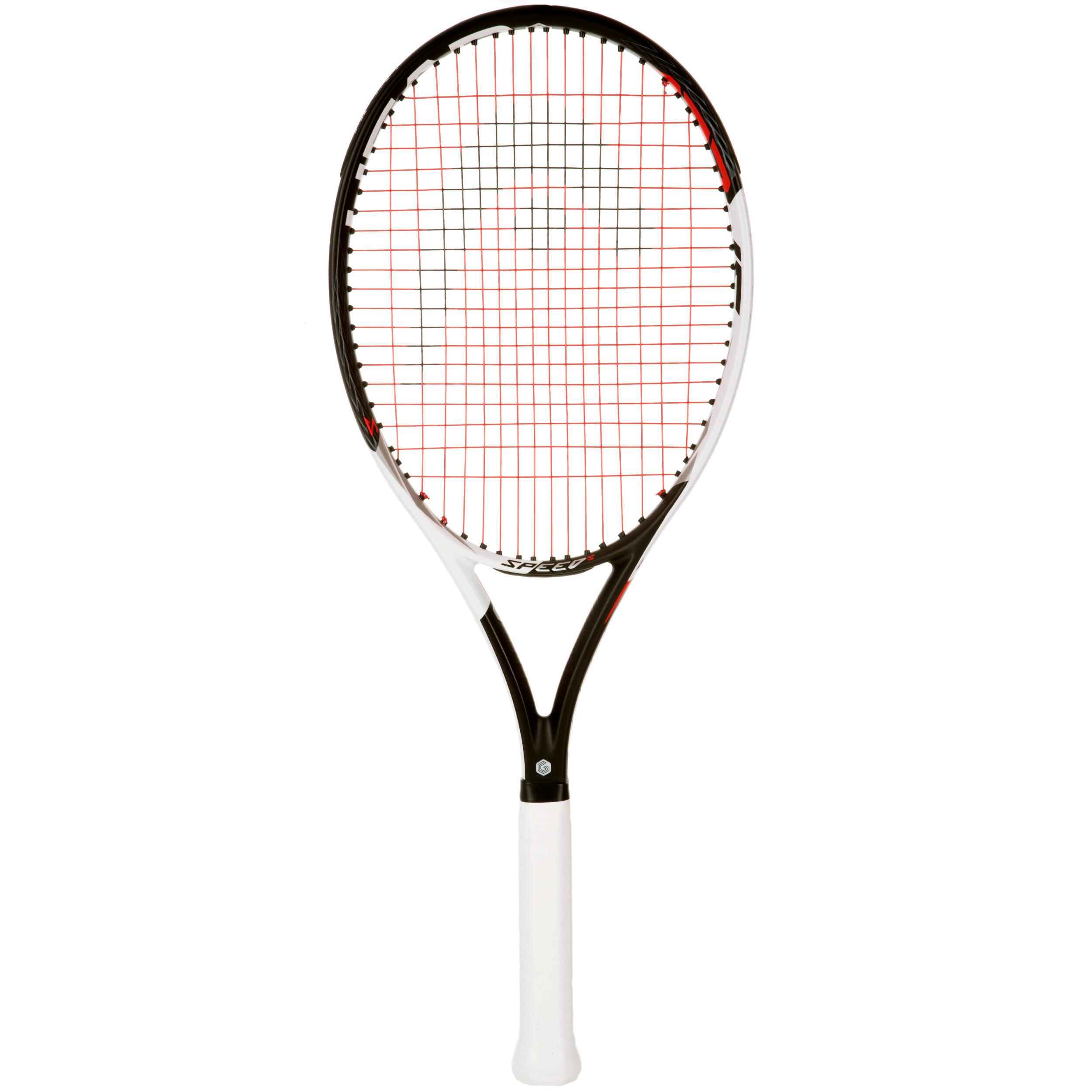 Head raquette de tennis speed s noir blanc decathlon - Raquette de tennis de table decathlon ...