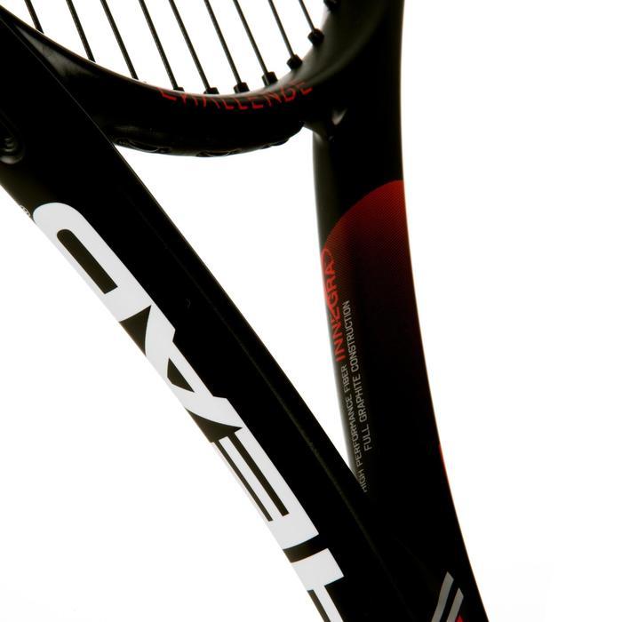 Tennisschläger Challenge Elite Speed besaitet weiß/rot