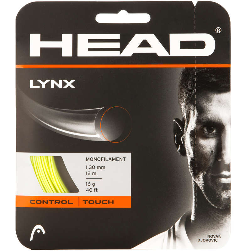 TENNIS STRINGS Squash - Lynx 1.30 mm HEAD - Squash