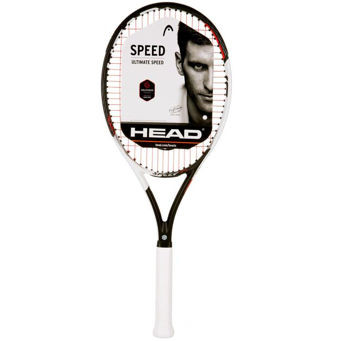 RAQUETTE DE TENNIS ENFANT HEAD SPEED 26 NOIR BLANC - 1069704