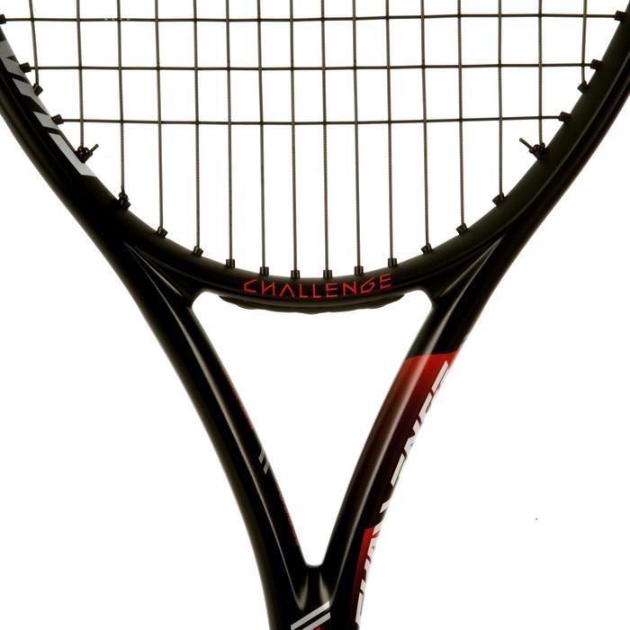 RAQUETTE DE TENNIS CHALLENGE ELITE SPEED BLANC ROUGE