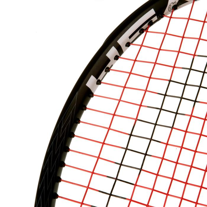 RAQUETTE DE TENNIS  ADULTE SPEED S NOIR BLANC - 1069829
