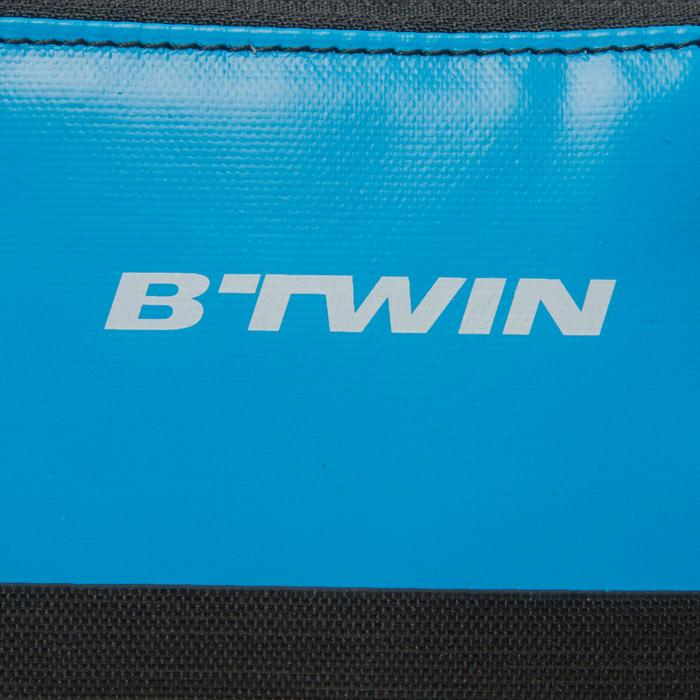 Dubbele frametas fiets 520 2 l blauw