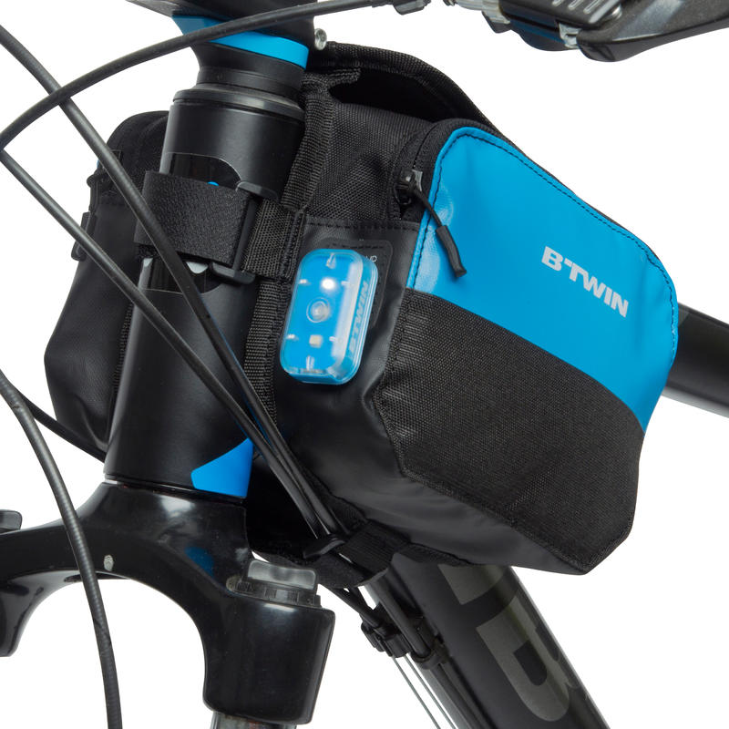 520 Double 2L Bike Frame Bag - Blue