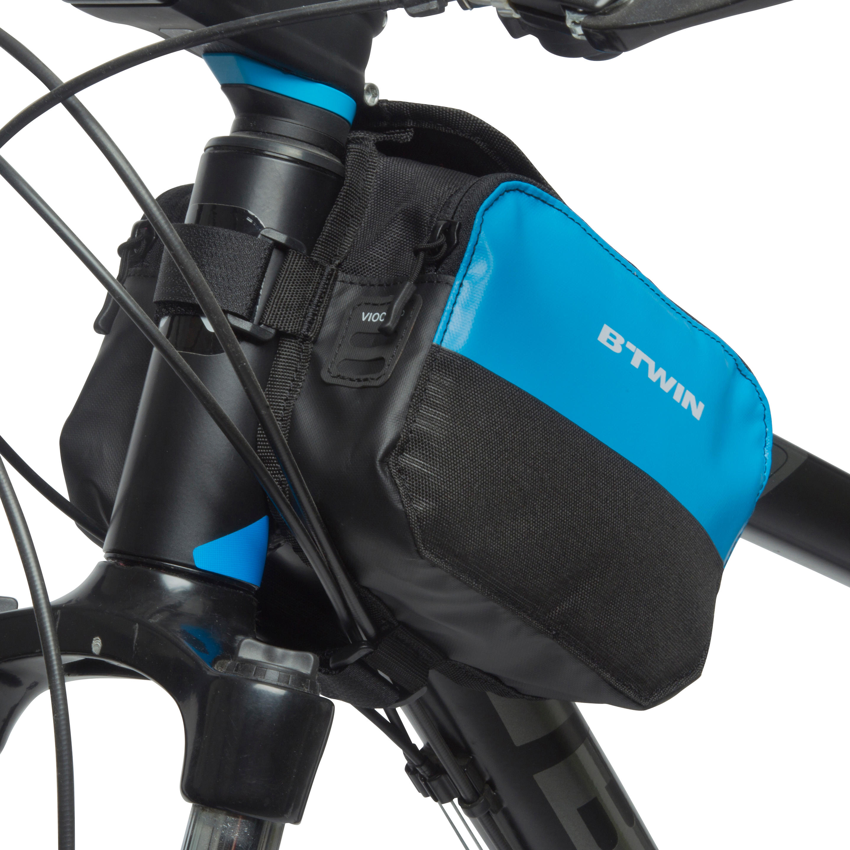 520 Double 2L Bike Frame Bag - Blue