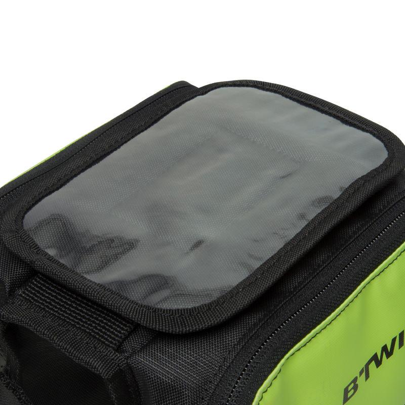 520 Double 2L Bike Frame Bag - Yellow