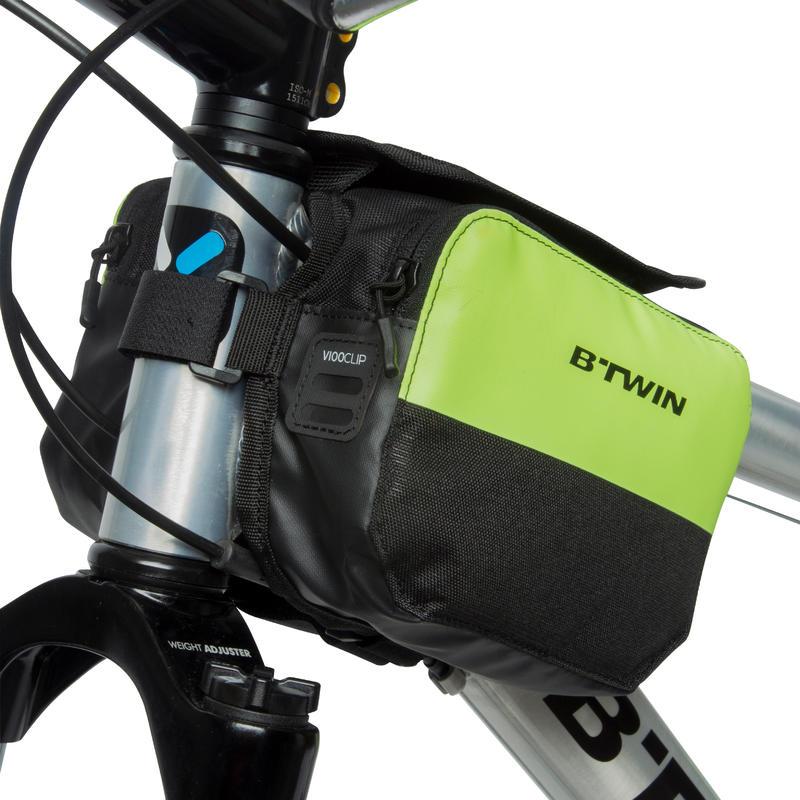 Double Bike Frame Bag 2L 520 - Yellow Green