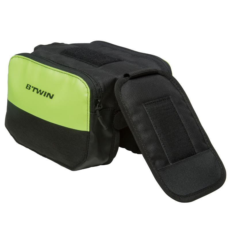 520 Double 2L Bike Frame Bag - Yellow