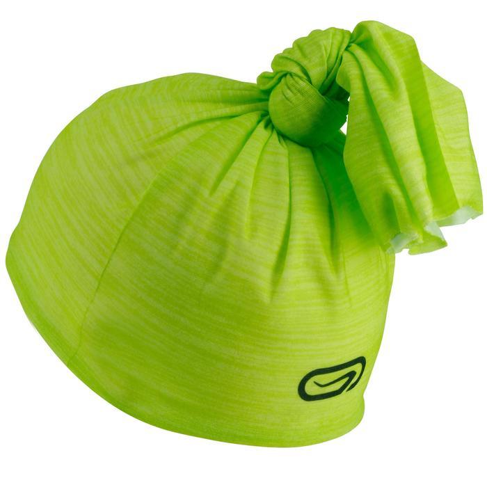 Hoofdband hardlopen Multifunctioneel Geel/groen Kalenji