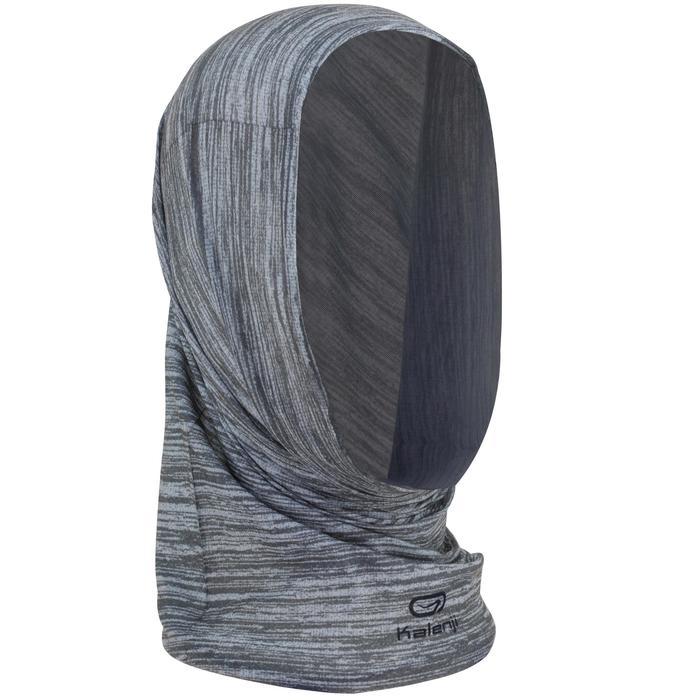 Multifunctionele hoofdband voor hardlopen grijs