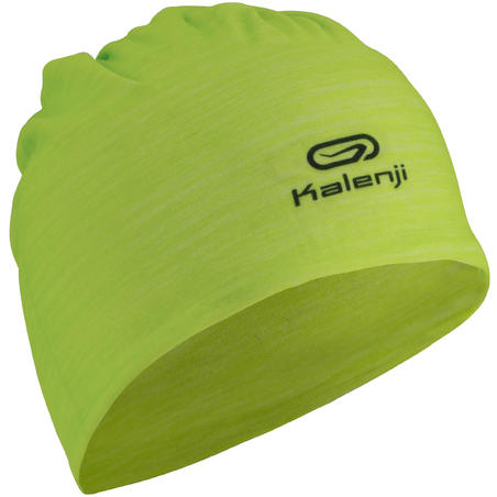 KALENJI MULTIPURPOSE RUNNING HEADBAND YELLOW GREEN