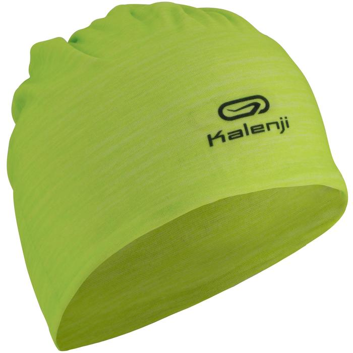 Hardloopband Multifunctioneel Geel groen Kalenji