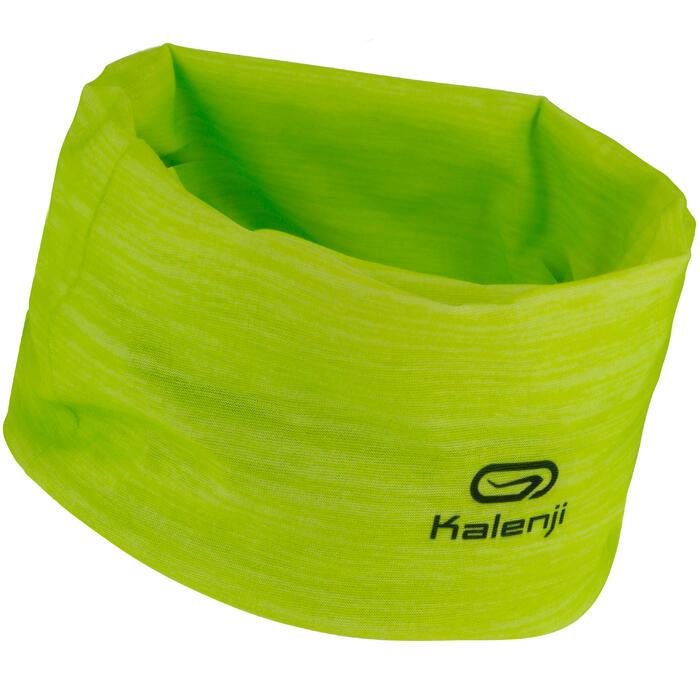 Multifunctionele hoofdband voor hardlopen geel