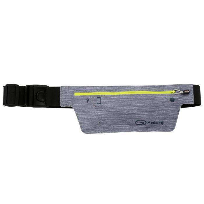 Laufgürtel für Smartphone grau