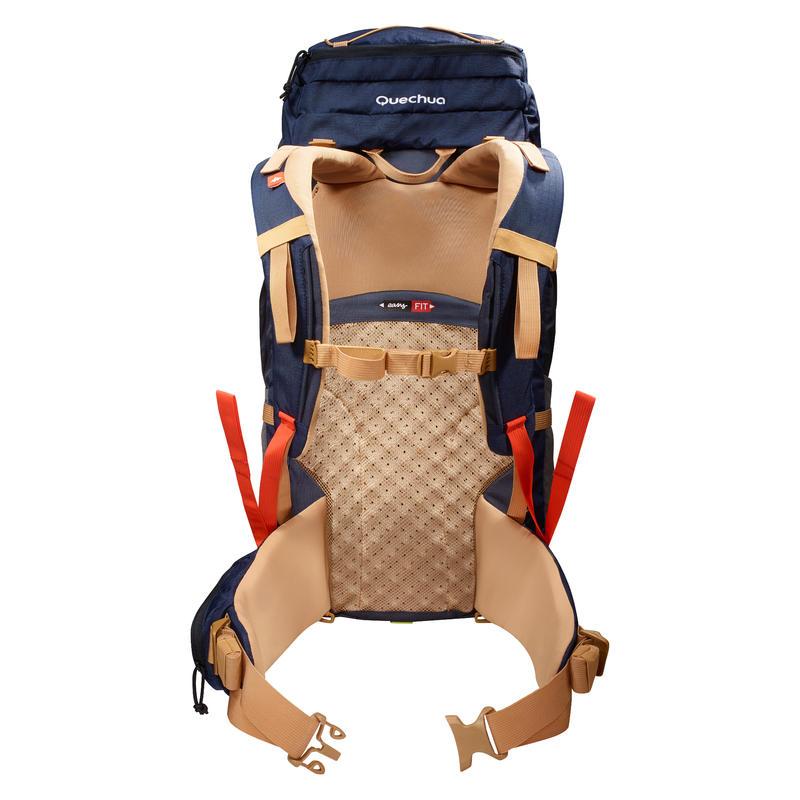 Trekking Backpack Easyfit Men's 50 Litre - Blue