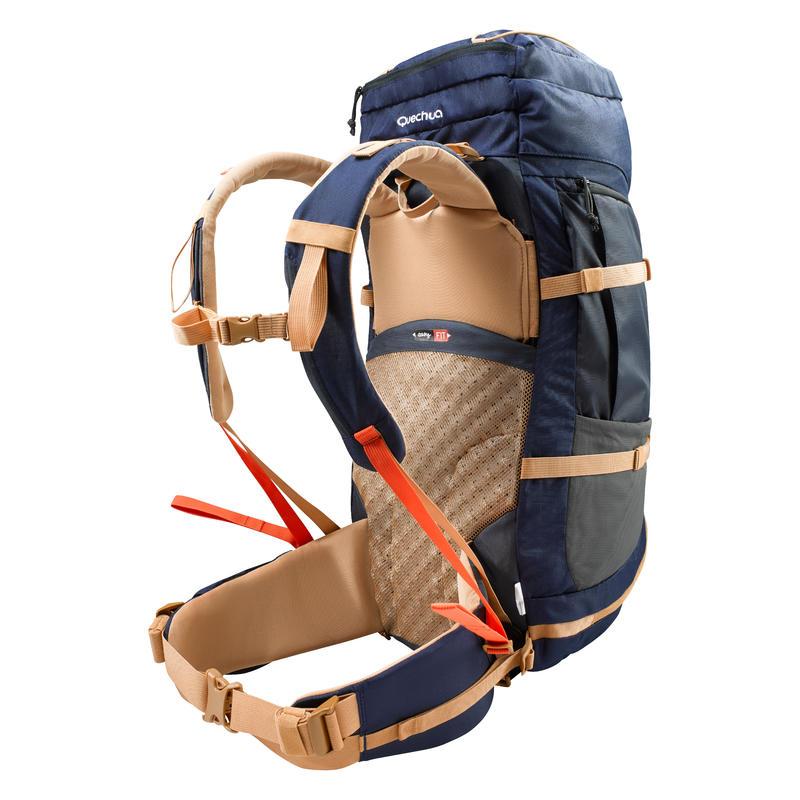 Men's Mountain Trekking Backpack |EASYFIT 50L Blue