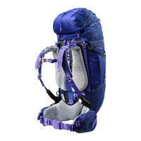 Backpack Trekking Symbium Women's 50+10 Litres - Dark Blue