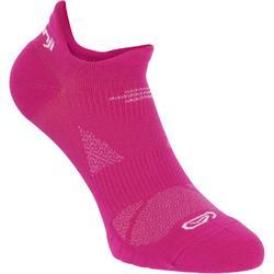 Loopsokken Eliofeel roze laag x 2