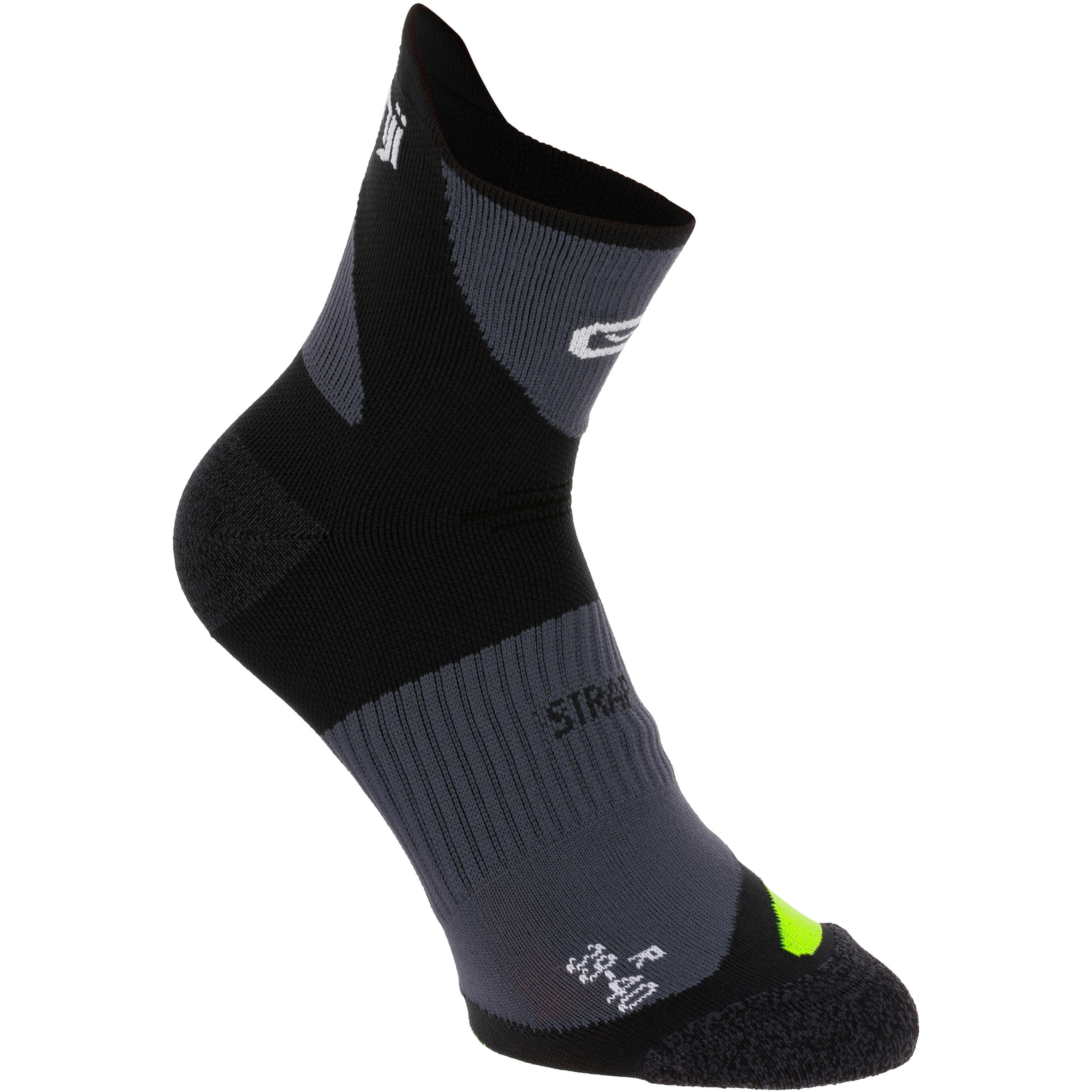 Kiprun Strap Running Socks - Black