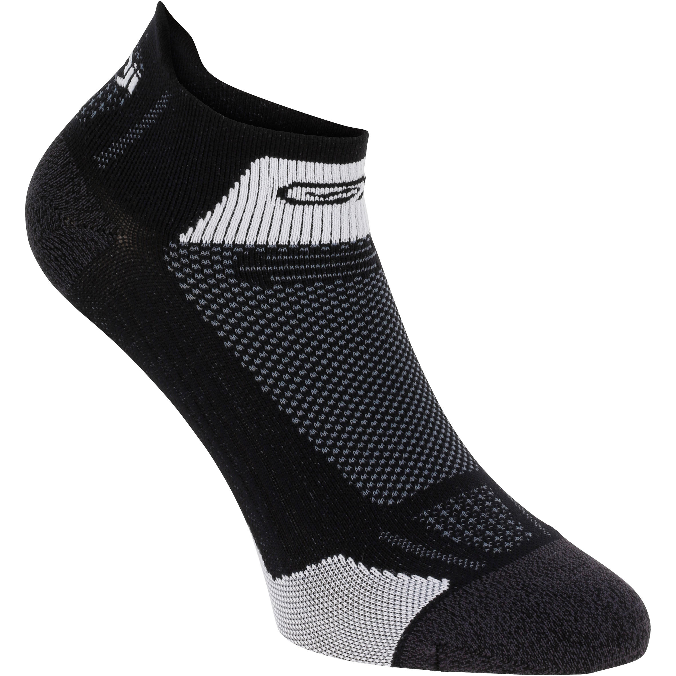 Kiprun Fit Running Socks - Black