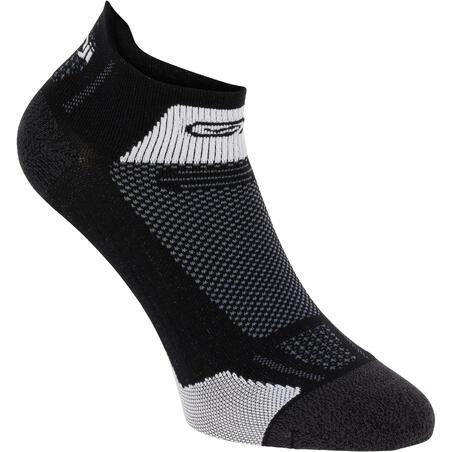 Kiprun Thin Mid-Height Running Socks - Black