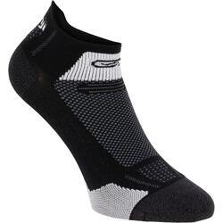 中筒跑步襪KIPRUN THIN - 黑色
