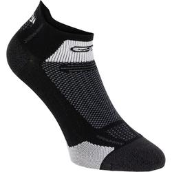 RUNNING MID-HEIGHT FINE SOCKS KIPRUN - BLACK