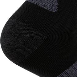 Laufsocken dick Kiprun Strap schwarz