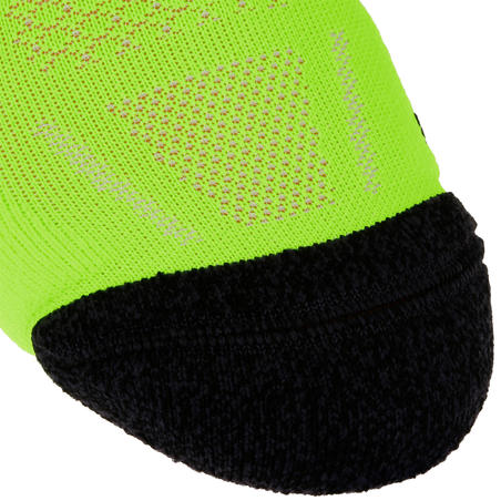 KIPRUN THICK MID-HEIGHT RUNNING SOCKS - YELLOW