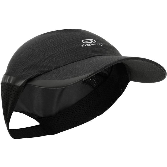 Lauf-Cap Schirmmütze Running Erwachsene schwarz