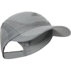 Lauf-Cap Erwachsene verstellbar grau