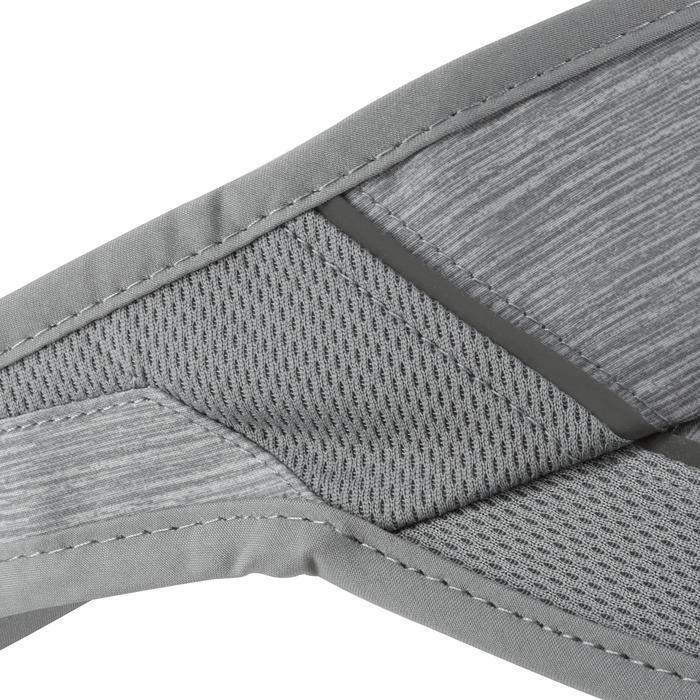 Zonneklep voor hardlopen grijs