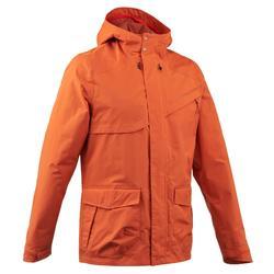 NH400 男士防水自然健行夾克- 灰色