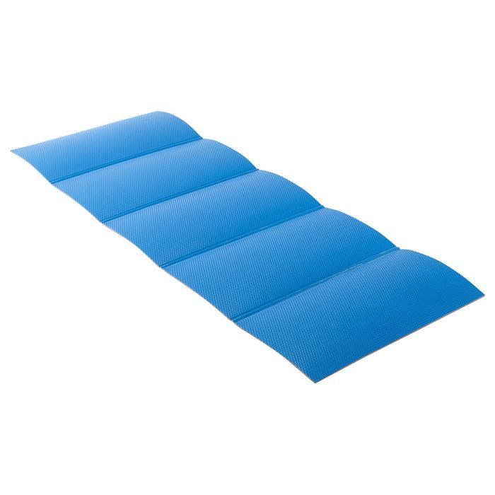 TAPIS DE sol pliable 520 GYM STRETCHING Bleu