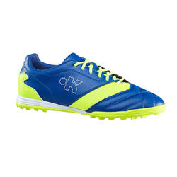 Density 300 HG Adult Hard Ground Football Trainers - Blue Yellow