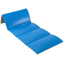 Gym Mat Foldable Shoe-Resistant - Blue/160 cm x 60 cm x 7 mm - Blue