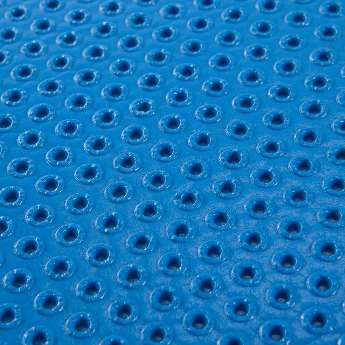 Esterilla Pilates Domyos 500 Toning Azul Talla M 7MM Resistente al Calzado