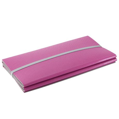 tapis de sol pliable 520 gym stretching rose domyos by decathlon. Black Bedroom Furniture Sets. Home Design Ideas