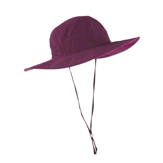 UV-werende hoed 500 voor wandeltochten, damesmodel - 1071065