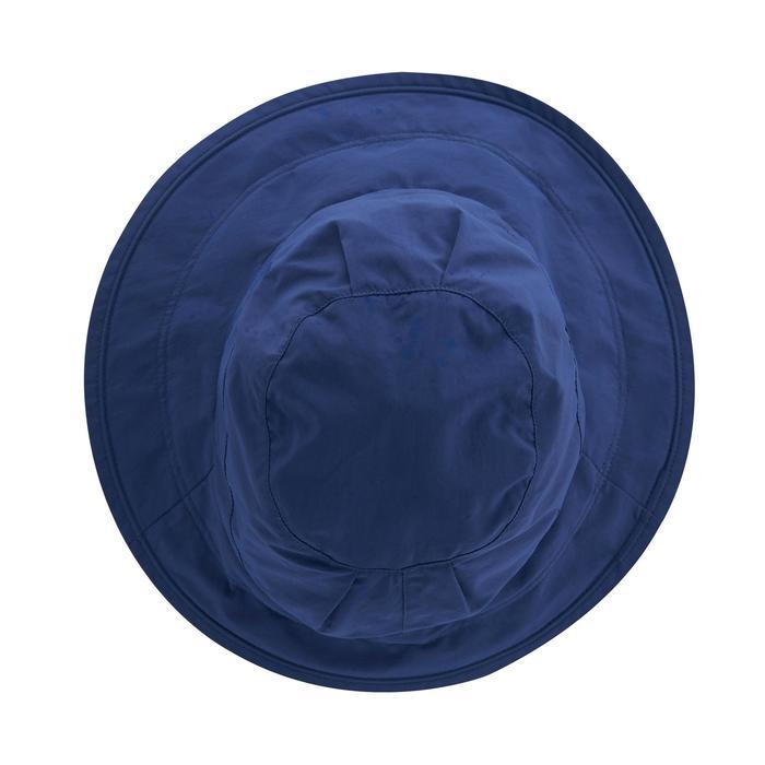 Sombrero travesía 500 ala ancha anti-UV mujer ciruela Forclaz ... b065281cbff4
