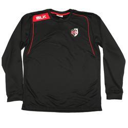 Sweater Stade Toulousain volwassenen zwart - 1071165