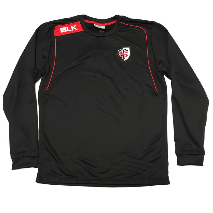 Sweat rugby adulte Stade Toulousain noir - 1071165