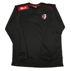 Sweater Stade Toulousain volwassenen zwart - 1071166